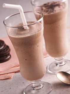 Tropical mocha smoothie is creamy,flavorful,and low calories per serving.