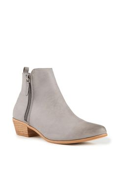 sandy zip boot, GREY 65