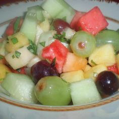 Robin's Fresh Fruit Salad