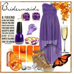 """""""Bridesmaid ideas :)"""" by asheebee1 on Polyvore"""