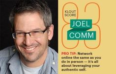 Why Klout Matters According to Joel Comm -http://transformtoday.com