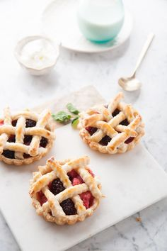 Fresh Berry Tartlets Recipe