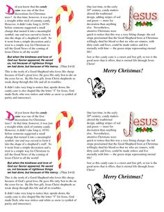 meaning of the candy cane | CWINDOWSDesktopCandy Cane TractBLANK Candy ...