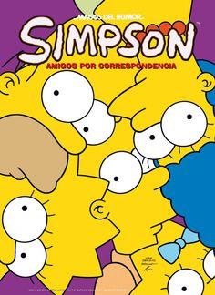 """""""Simpson: Amigos por correspondencia"""" Matt Groening"""