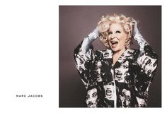 Fashion Copious - Bette Midler for Marc Jacobs SS 2016 Campaign by David Sims