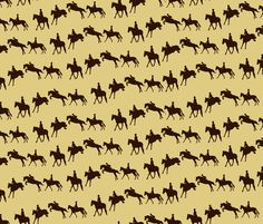 Jump Sequence - Sepia fabric by devin's_designs on Spoonflower - custom fabric Custom designed fabric with an equestrian/horse theme - available for purchase. Horse Wallpaper, Background Patterns, Custom Fabric, Spoonflower, Horses, Digital, Equestrian, Prints, Fabrics