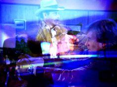 2014 - digital still from The Cascade Project - Moments in the Televisual Desert. New Media, digital art. Ren Adams.