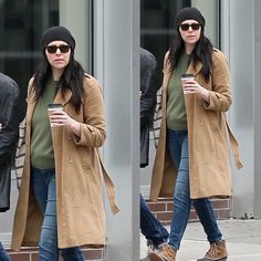 Laura Steps Out In NY Oct 2017