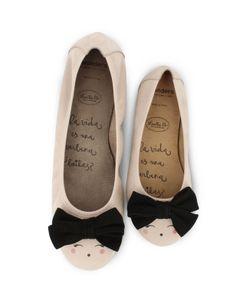 Bailarinas de Wonders diseñadas por Lucia B