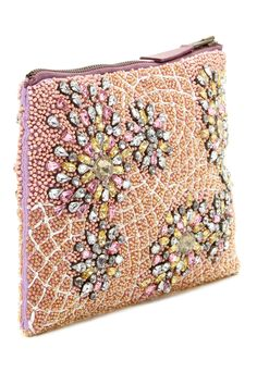 Beaded Jewelry Pouch