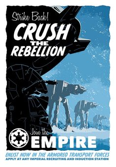 Crush the Rebellion by Brian Miller - Star Wars fan art