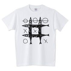 さんま○×Tシャツ | デザインTシャツ通販 T-SHIRTS TRINITY(Tシャツトリニティ)