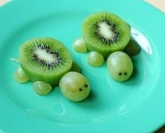 Черепашки из фруктов - Сайт для мам малышей