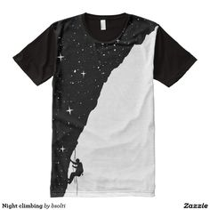 Night climbing All-Over print t-shirt