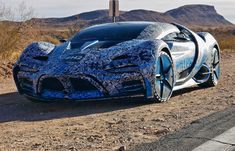 This hydrogen-powered supercar hits Las Vegas...