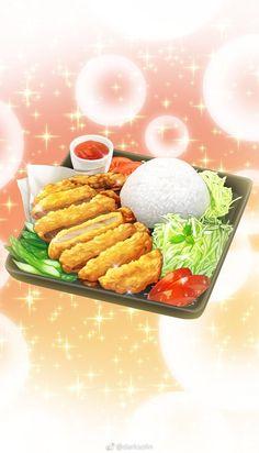 Cute Food, I Love Food, Yummy Food, Food Sketch, Food Wallpaper, Food Painting, Food Concept, Food Backgrounds, Food Drawing