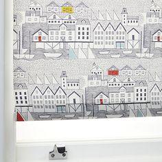 Buy John Lewis Nordic Houses Daylight Roller Blind Online at johnlewis.com