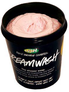 Mon nouveau coup de coeur a la texture maxi folle qui me fait une peau incroyable: Dreamwash/Chaman  Savon de douche apaisant à base de plantes pour calmer les peaux sèches et irritées.