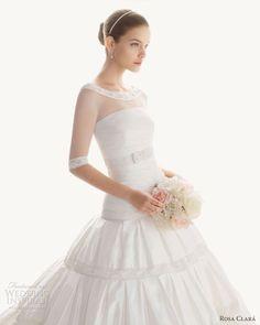 rosa clara wedding dresses 2013 bridal begona, bride, bridal, wedding gown, bridal gown, wedding