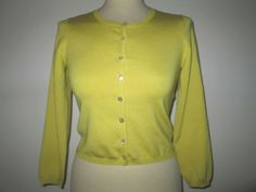 * * * P.A.R.O.S.H. Cardigan SYBIL gelb, Gr.S * * * Blouse, Long Sleeve, Sleeves, Sweaters, Ebay, Women, Fashion, Clothing Accessories, Fashion Women