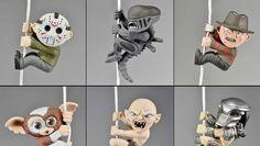 Action Figure Cinema - mini figures NECA di Alien, Freddy, Jason, Gremlins, Predator e Gollum