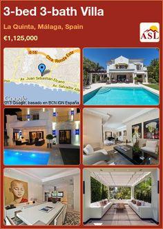 3-bed 3-bath Villa in La Quinta, Málaga, Spain ►€1,125,000 #PropertyForSaleInSpain