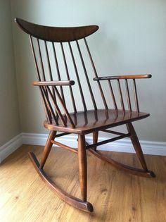 Danish Modern Rocking Chair - Love it!
