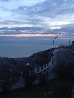 Monte Sant'Angelo - Golfo di Manfredonia da quartiere Junno!