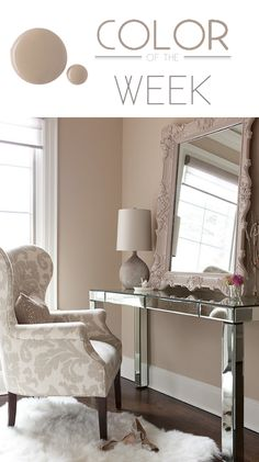 For a calmer #color consider Studio Taupe. #BEHRPAINT
