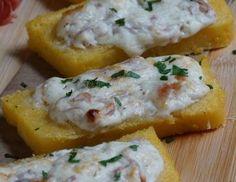 crostoni di polenta allo speck