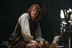 Sam Heughan as Jamie Fraser in 'Outlander' Season 2, Episode 9 '-- 'Je Suis Prest'