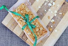 Copycat Nature Valley Granola Bars by Chocolate Covered Katie