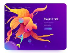 Rumble Fish designed by Shayne for NICE 100 . Connect with them on Dribbble; Wedding Cards, Diy Wedding, Fish Design, Show And Tell, Personal Branding, App Design, History, Design Inspiration, Design Ideas
