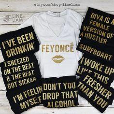 queen b beyonce shirts bachelorette shirts bridesmaid by LineLiam