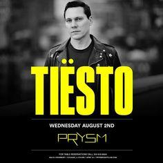 Tiësto date | Prysm NightClub | Chicago, IL August 02, 2017 http://www.tiestolive.fr/2017/06/tiesto-date-prysm-nightclub-chicago-il-august-02-2017.html