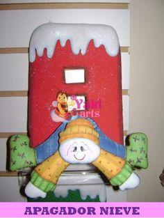 "FOLLETOS MODELADOS EN EVA 3D     YAKIARTS ""Eva Hecho Arte""  te ofrece folletos de modelado en eva 3D para que puedas realizar en tu casa e... Christmas Decorations, Christmas Ornaments, Holiday Decor, Christmas Ideas, Birthday Candles, Santa, Vintage, Bts, Home Decor"