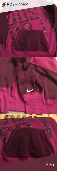 Medium Nike Pullover Hoodie Excellent condition Nike Tops Sweatshirts & Hoodies