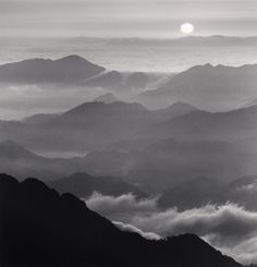 Huangshan Mountains, Study 46, Anhui, China, 2010 by Michael Kenna