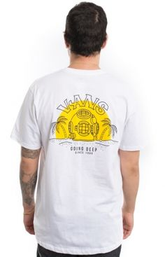 Vans Clothing, Deep Dive -Shirt - White