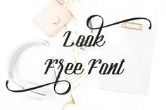 DLOLLEYS HELP: Look Free Font