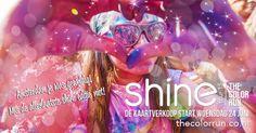 Utrecht 12 september de laatste editie van The Color Run Shine Tour!