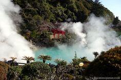 "One of the ""hells"" of Beppu (Oita Prefecture, Kyushu). #japan #onsen"