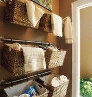 DIY Bathroom Organizing
