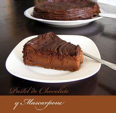 tarta de chocolate y mascarpone