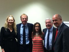 Me with author Ragnhild and LFC legends Cally, Neal and Fairclough for Liverpool FC Heroes
