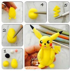 Fondant Pokemon topper tutorial