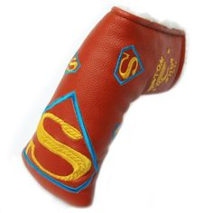 Custom Shop 911 Orange, Blue, and Yellow Superman Golf Putter Head Cover by Customshop911. $39.99. Fits most blade putters including Scotty Cameron and Ping putters