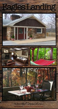 Eagles Landing is more than just a mountain vacation rental. It is a large 5 bedroom home that can play hostess to your family gathering in Asheville, NC!