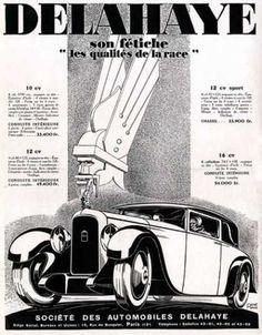 Delahaye Sedan Art Deco (1928)