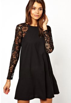 Shop Round Neck Lace Loose Dress online. SheIn offers Round Neck Lace Loose Dress & more to fit your fashionable needs.